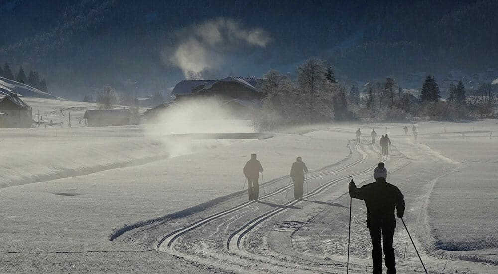 location ski de fond